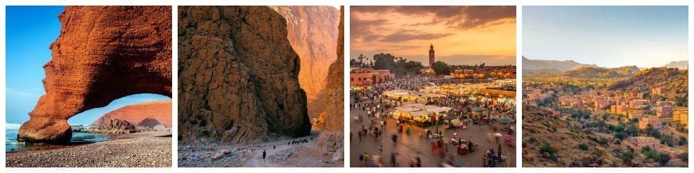 Топовые достопримечательности в Марокко