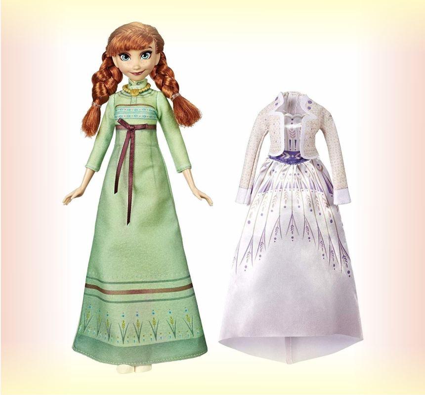 Кукла Анна из мультика Холодное сердце 2, с дополнительным нарядом