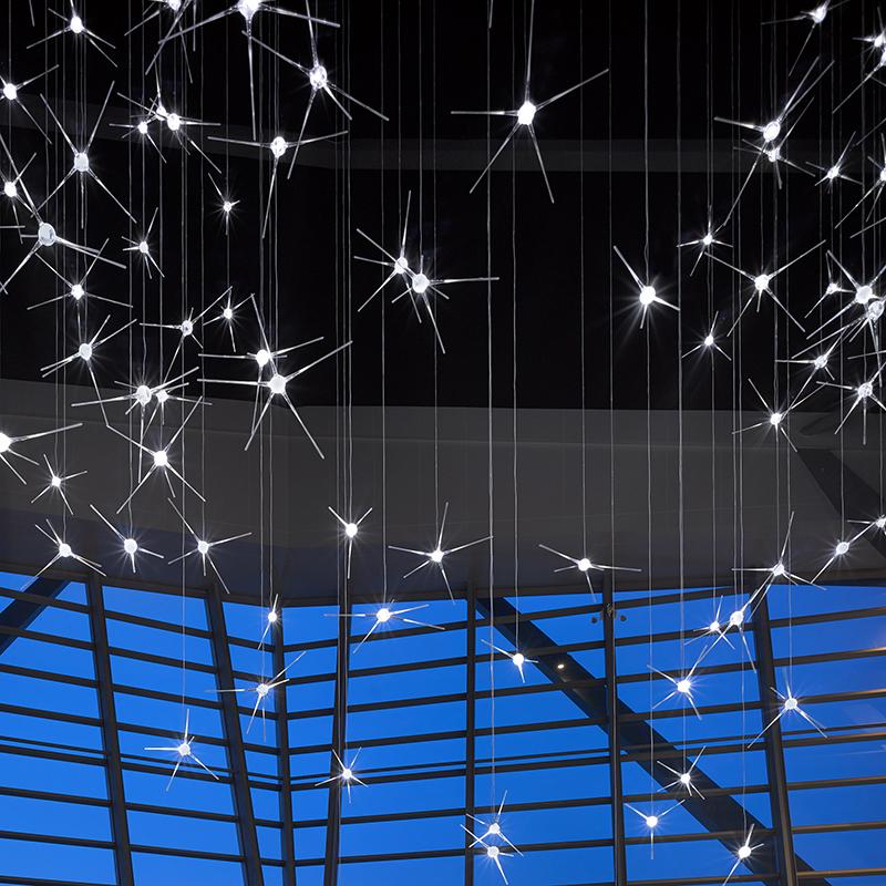 Инсталляция Neurons от Lasvit