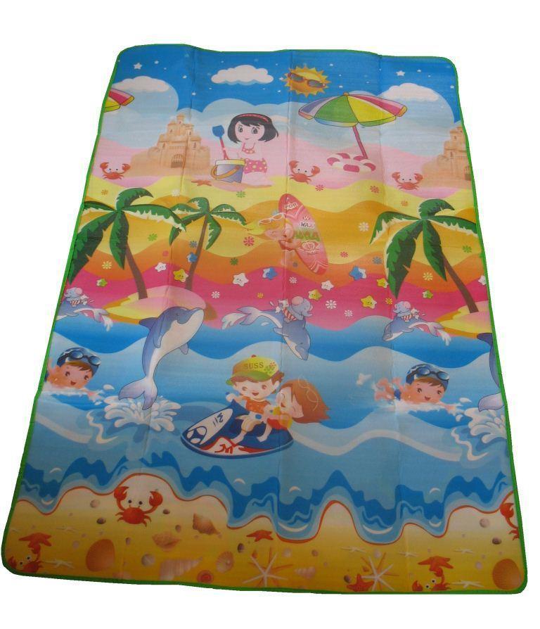 "Рулонный коврик для детей ""Летний день"" двусторонний (180*120*0,5)"