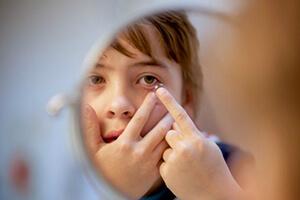 контактные линзы для детей, фото Линзочки