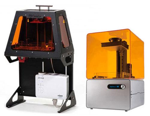 SLA и DLP 3д принтеры в продаже, цена от 100000 рублей