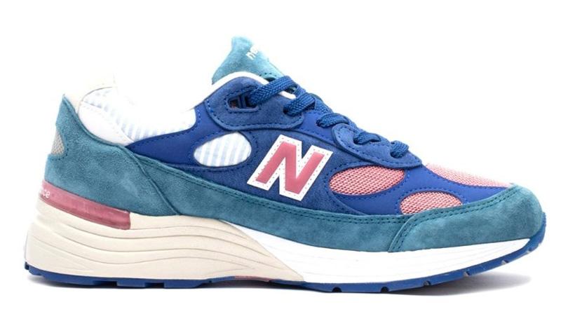 New Balance 992 «Сине-бело-розовый» - 2