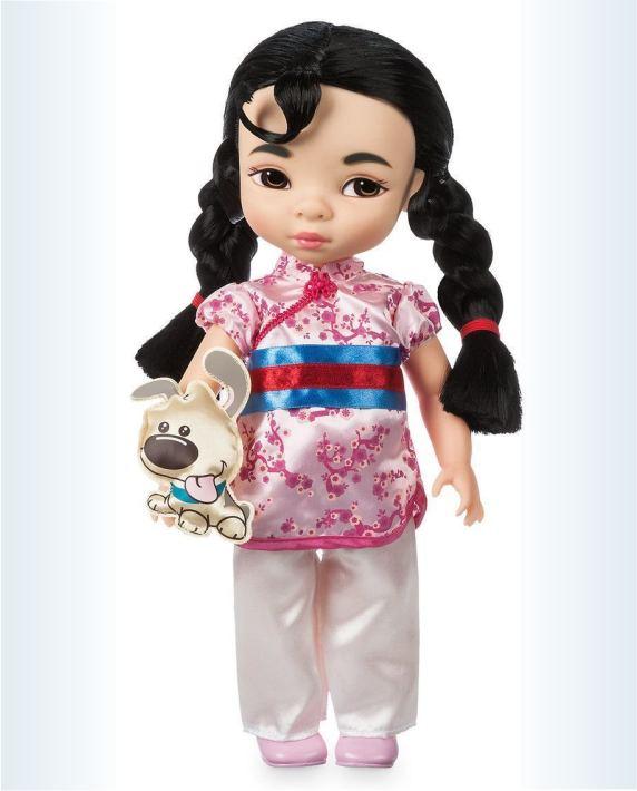 Кукла принцесса Мулан с питомцем из серии  Аниматорз