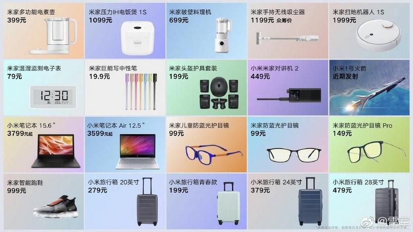 20 новинок от xiaomi