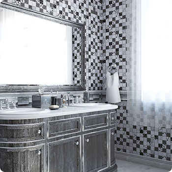 DNY-5 Итальянская мозаика мрамор Skalini Dynasty Tileclub