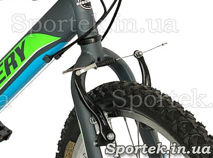 Тормоз V-brake на велосипеде Discovery