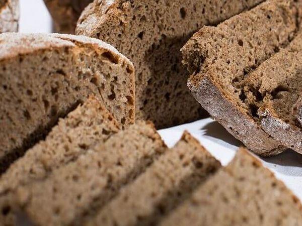 Черный хлеб без глютена