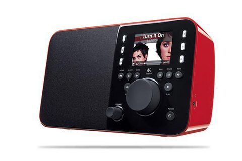 Logitech Squeezebox red