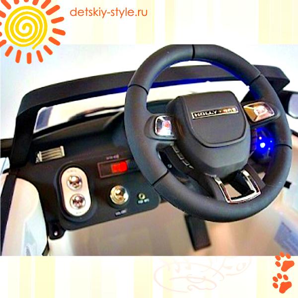 электромобиль river toys range rover а111аа, купить, цена, детский электромобиль рэндж ровер a111aa, стоимость, заказать, бесплатная доставка по москве, кожаное сиденье, доставка по россии, заказ, отзывы, видео обзор