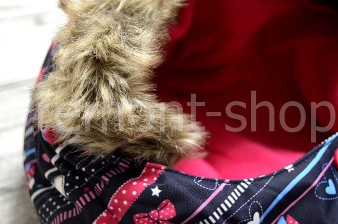 Опушка на куртке Premont Рождество в Калгари
