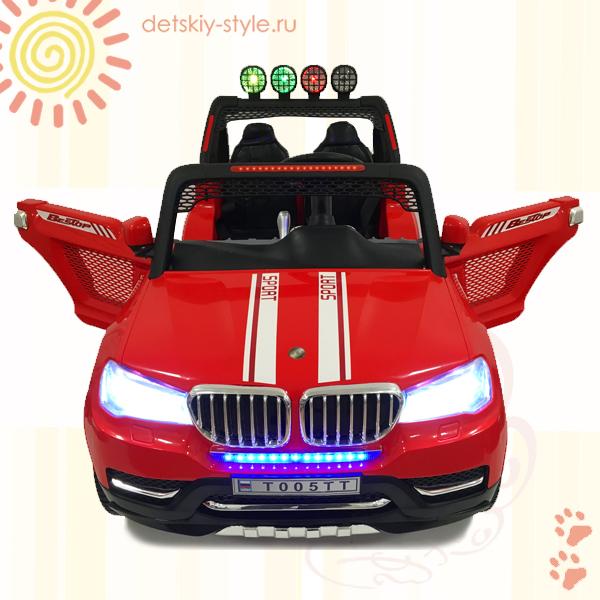 двухместный электромобиль bmw t005tt, river toys, полный привод, купить, новинка, цена, стоимость, заказать, бесплатная доставка, заказ, отзывы, официальный дилер, обзор, детский электромобиль bmw t005tt, интернет магазин, доставка по россии