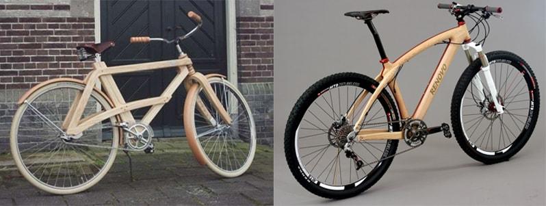 Велосипеди з дерев'яними рамами
