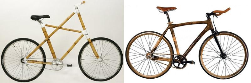 Велосипеди з бамбуковими рамами