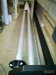 Система подачи материала с дополнительным валом. Для равномерной натяжки потолков.