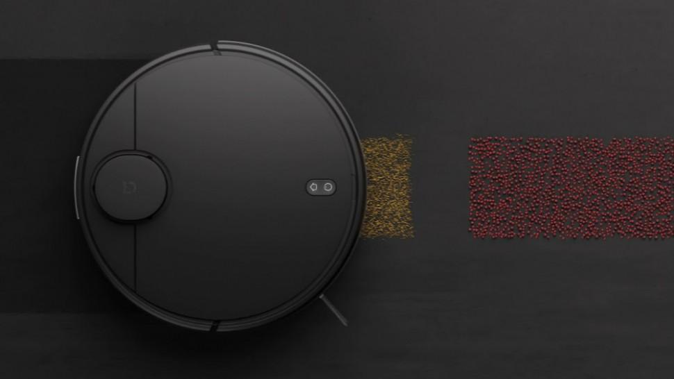 Робот-пылесос Xiaomi Mijia LDS Vacuum Cleaner (черный) установка запрета