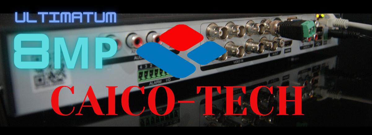 DVR CAICO TECH UHD 8Mp 4K описание цена