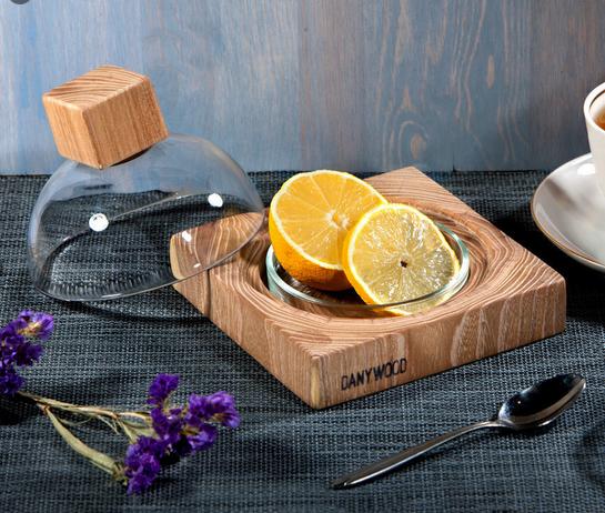 лимонница с крышкой