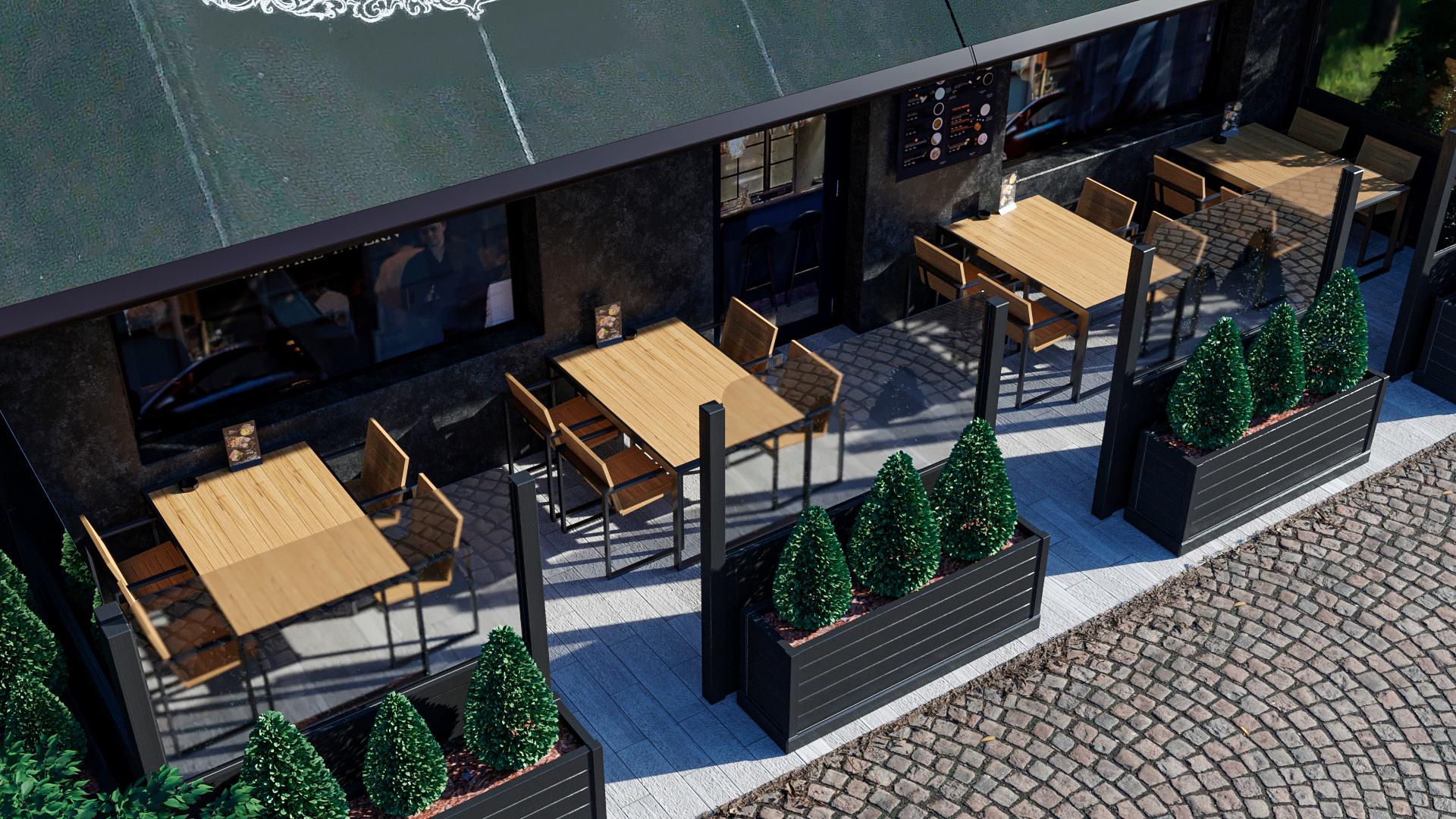 Летние террасы ресторанов