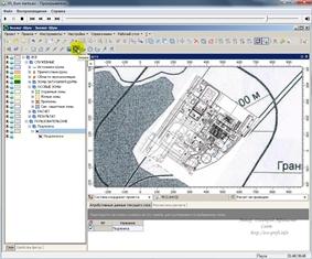 """Как в программу """"Эколог-Шум"""" добавить скан бумажной карты?"""
