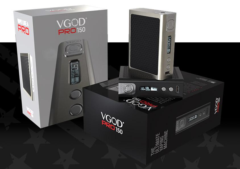 Комплектация Боксмод VGOD Pro150