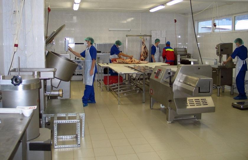 Полы для мясных производств