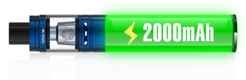 SMOK Stick V8 Baby Kit с аккумулятором 2000mAh