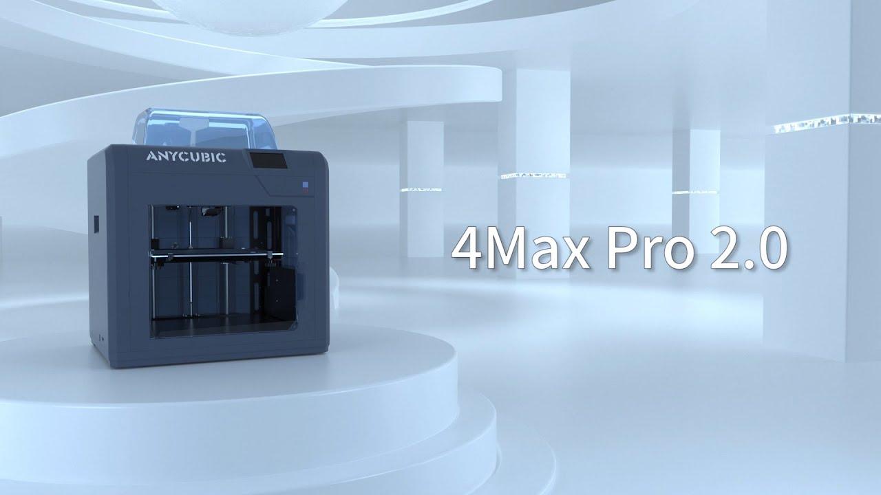 Anycubic запускает 4Max Pro 2.0