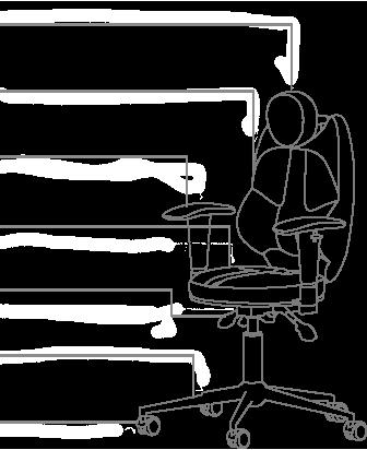 Функционал кресла KULIK SYSTEM TRIO