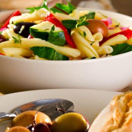 Салат из пасты, рецепты