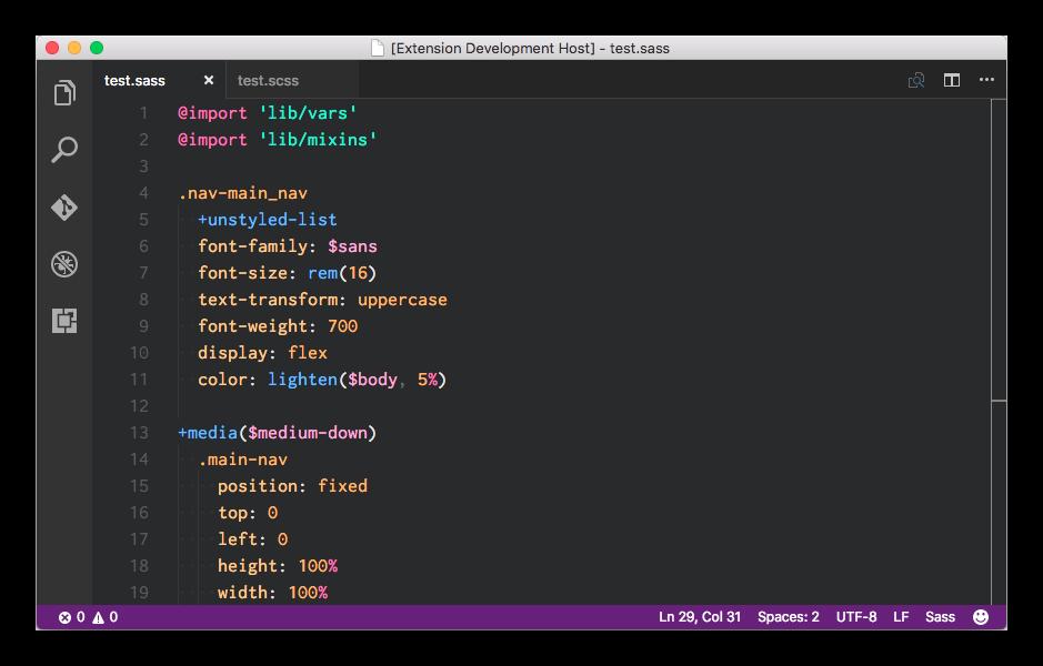 Пример синтаксиса препроцессора