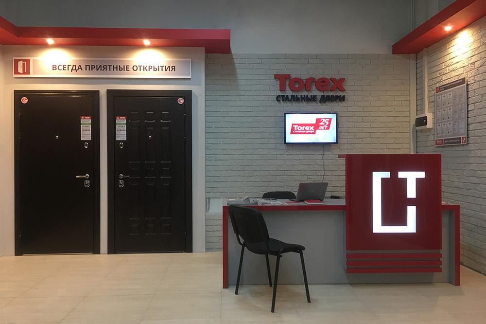 Открытие нового магазина стальных дверей Torex