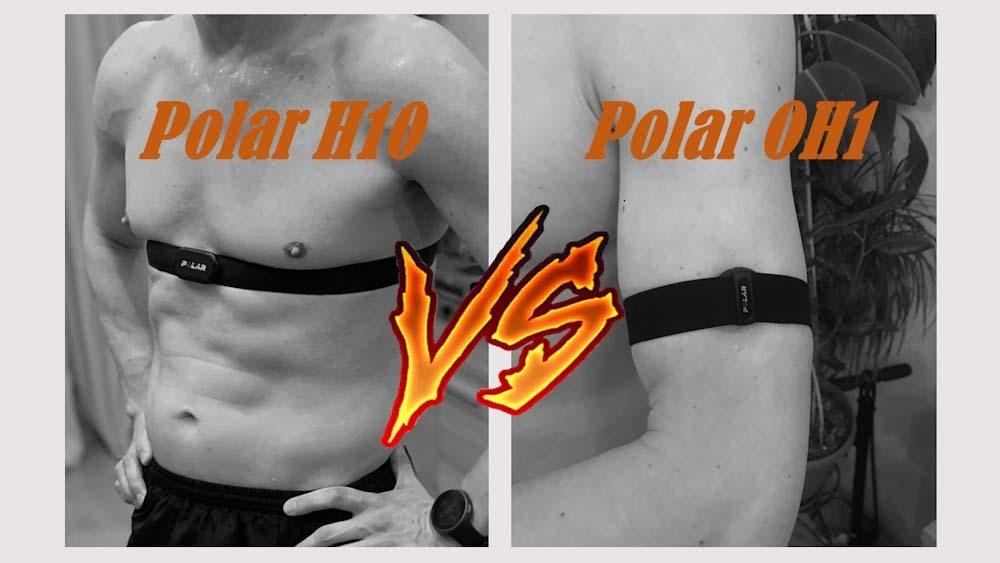 Нагрудный пульсометр Polar H10 или оптический датчик Polar OH1. Что лучше?
