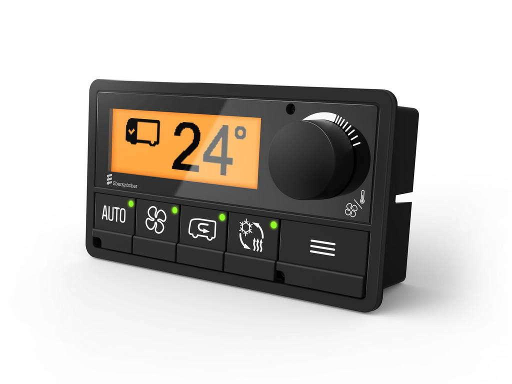 Оптимальный климат внутри автобусов - новая платформа E-Control от Eberspaecher Suetrak