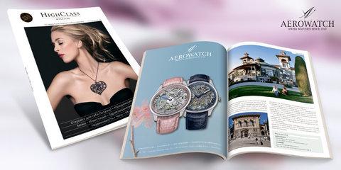 Aerowatch теперь в журнале HighClass Magazine