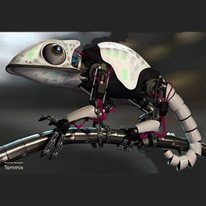 Создан «язык» для робота-хамелеона