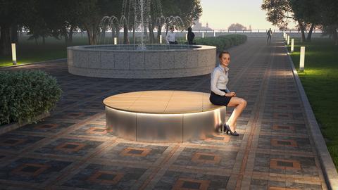 TOP 5 modern furniture solutions in landscape design