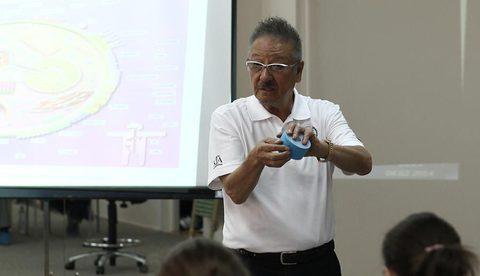 Кензо Касе провел мастер-класс в РДКБ