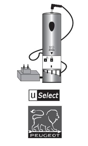 Аккумуляторная электрическая мельница для перца с регулируемым измельчителем