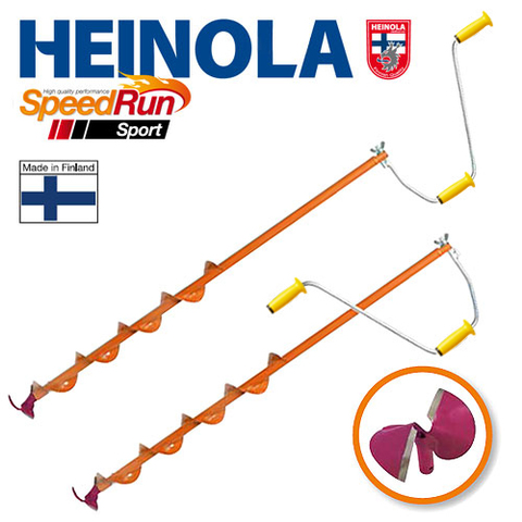 Heinola SpeedRun Sport - спортивный ледобур