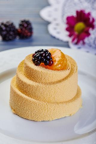 Пирожное Мандарин-смородина