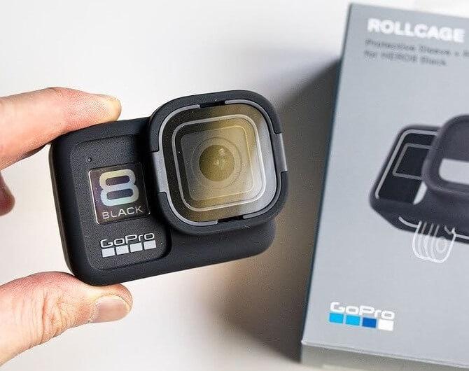 Обзор на защитный чехол и линза Rollcage для GoPro HERO8