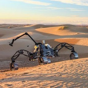 В Сахаре испытали «марсоходы»