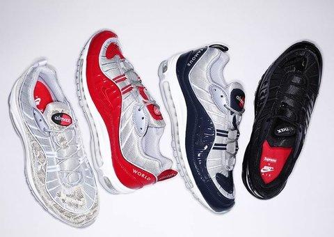 Новая коллекция Nike Air Max 98 X Supreme (Найк Суприм) уже в России