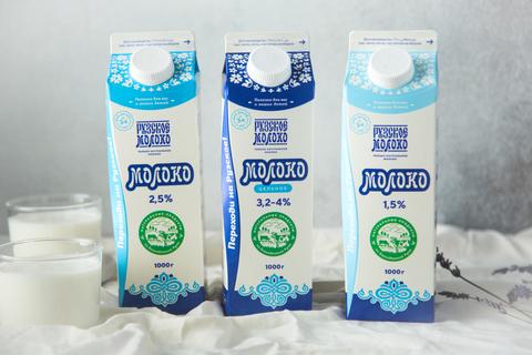 Новая упаковка Рузского Молока