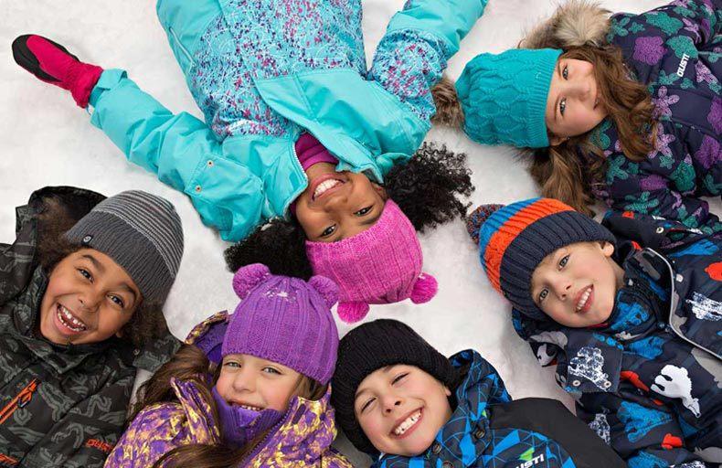 Зимние товары для детей от канадского бренда GUSTI сезона 2018-2019