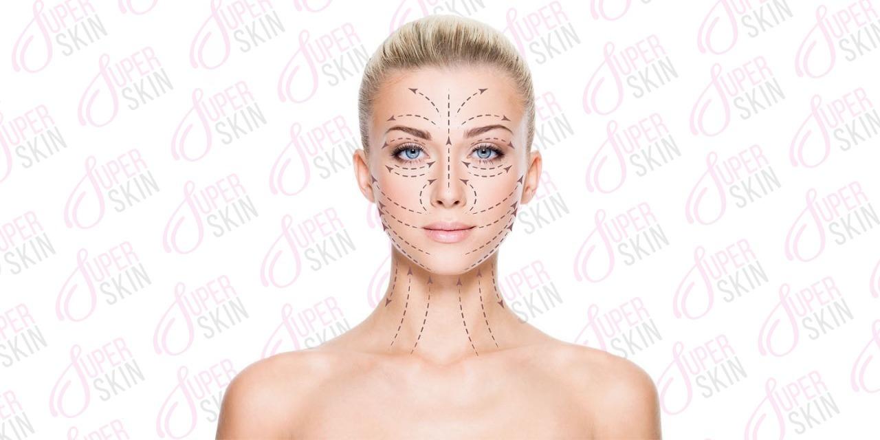 Как правильно наносить крем на лицо (массажные линии)