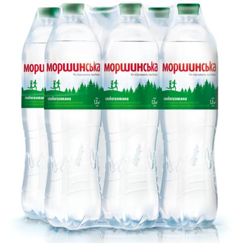 Заказ минеральной воды Моршинская
