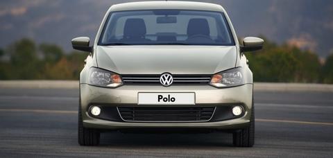 Установка пневмобаллонов в пружины Volkswagen Polo
