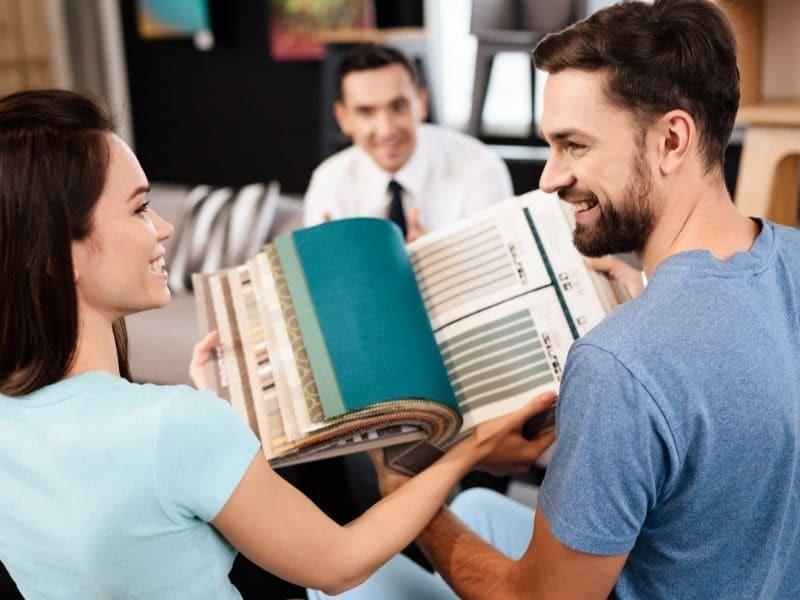 Выбор мебельной ткани